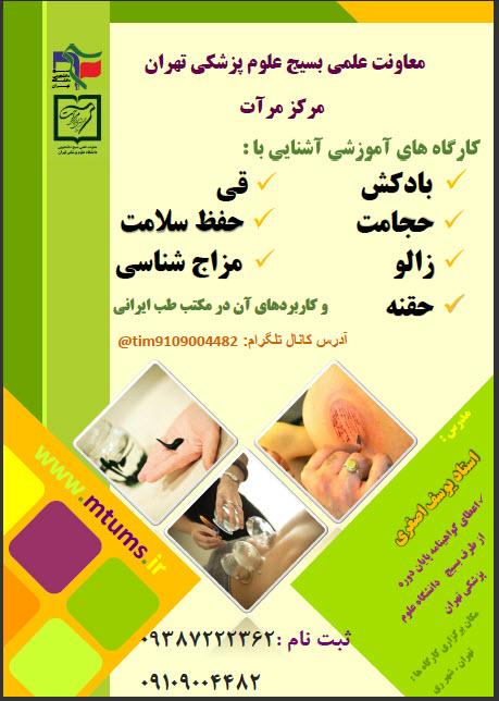 کارگاه های آموزشی طب سنتی